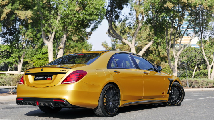 S65 Rocket 900 Desert Gold Edition By Brabus (18)