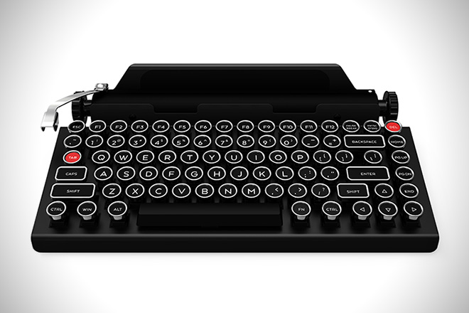 QwerkyWriter Is An Amazing Retro iPad Keyboard (1)