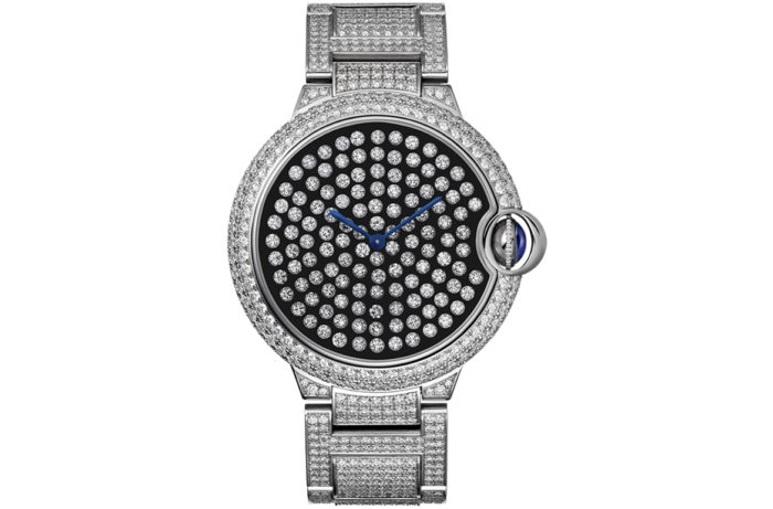 Serti Vibrant Limited Edition Watch By Cartier