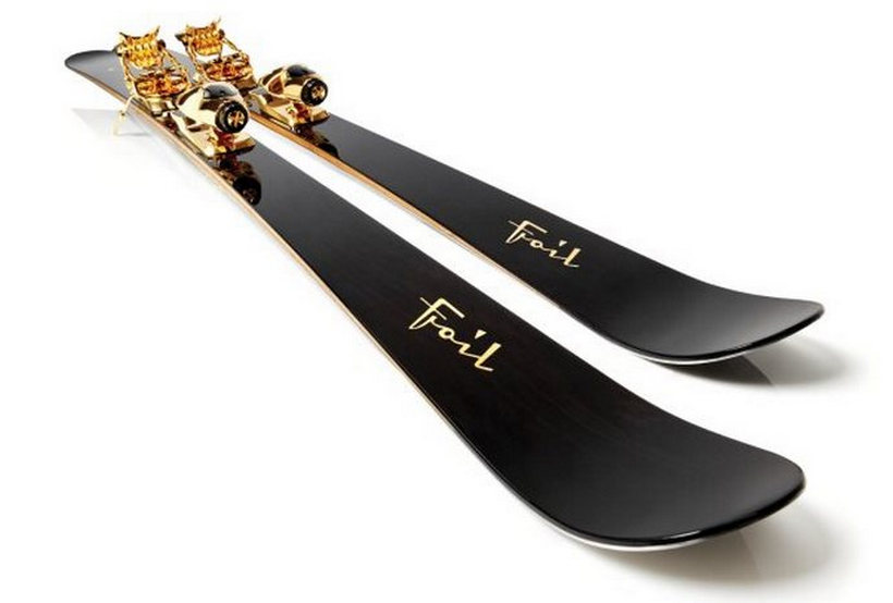 These $50K Gold Plated Skis By Foil Are Amazing (3)