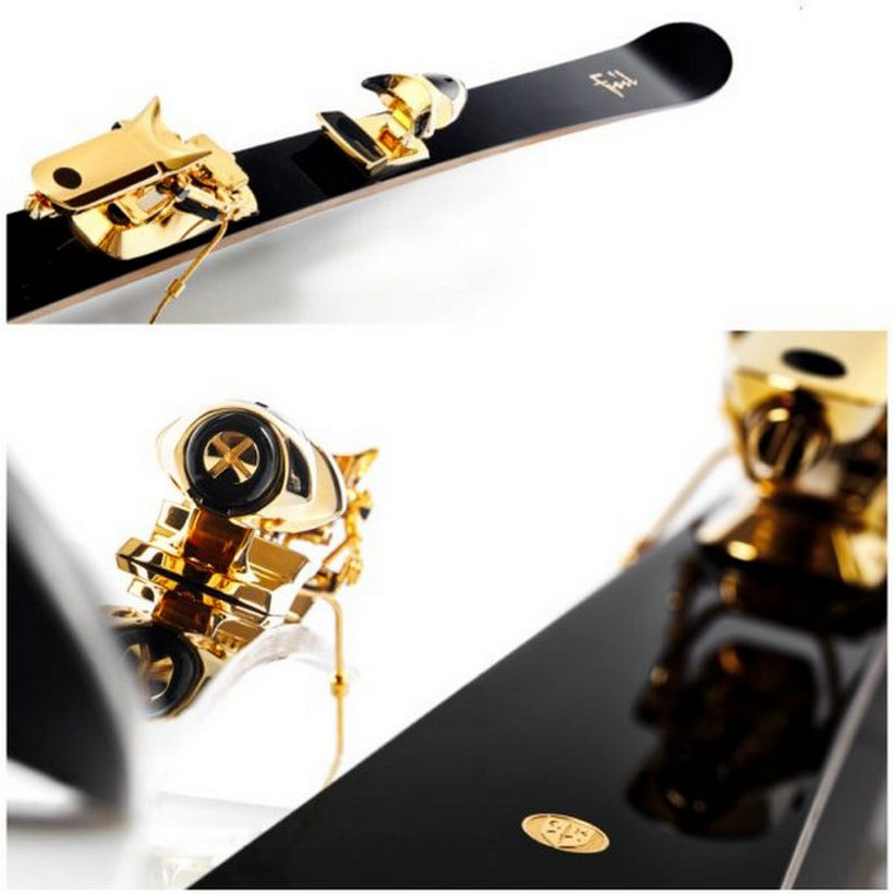 These $50K Gold Plated Skis By Foil Are Amazing (2)
