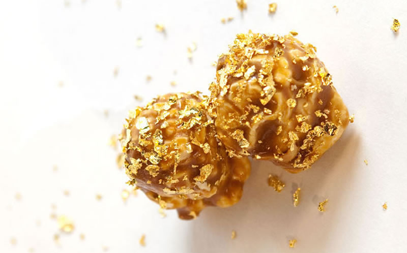 World's Priciest Popcorn Includes Edible Gold 1
