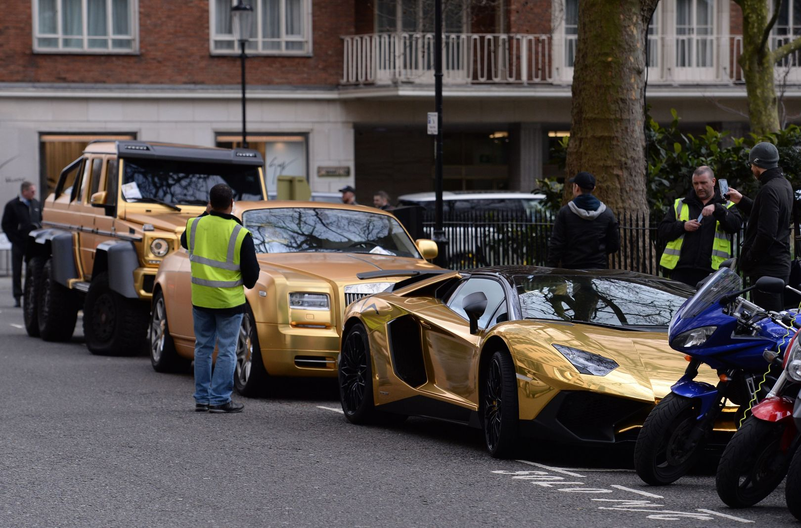 Cars Have All Received Parking Tickets In London