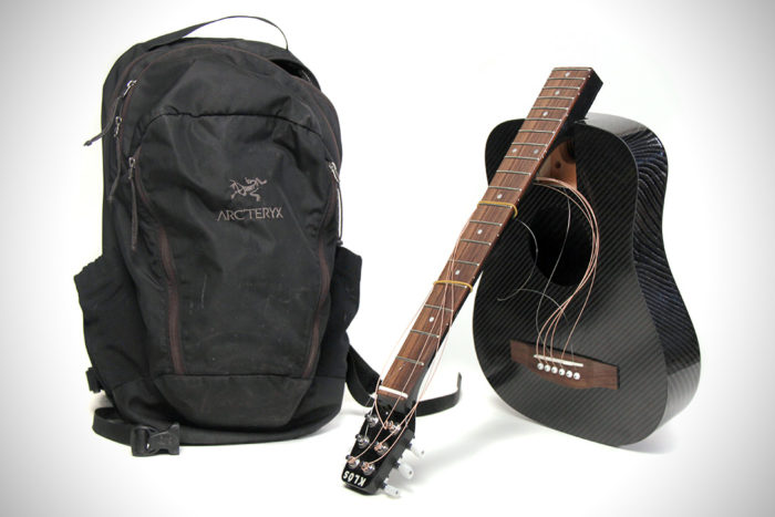 Elegant And Practical Carbon Fiber Guitar By KLOS 2