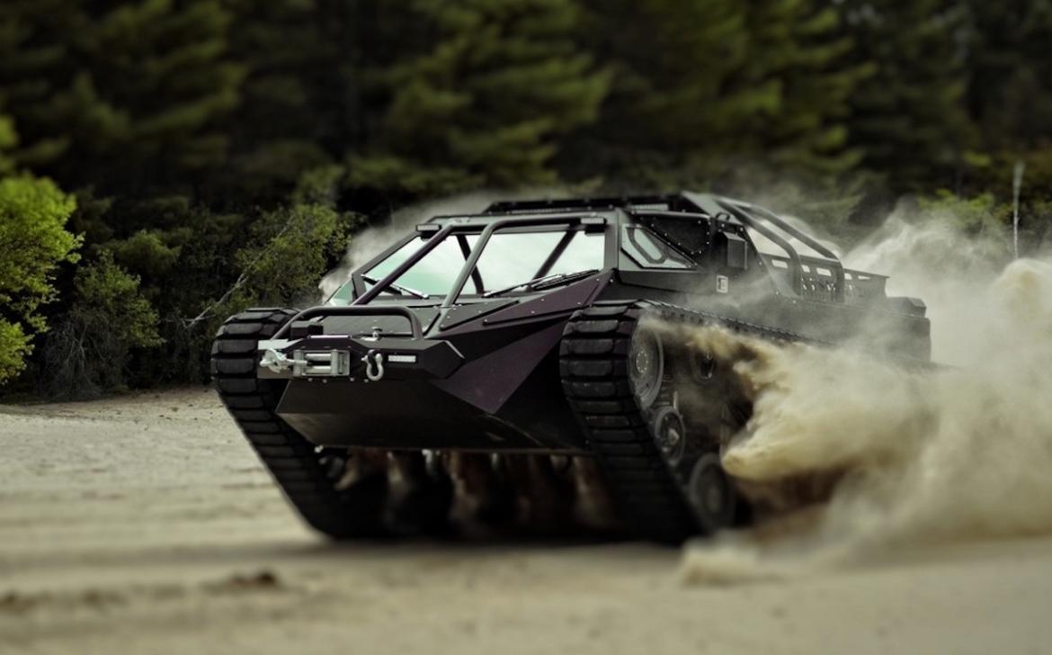 Awesome Luxury Tank By Howe and Howe Tech (5)