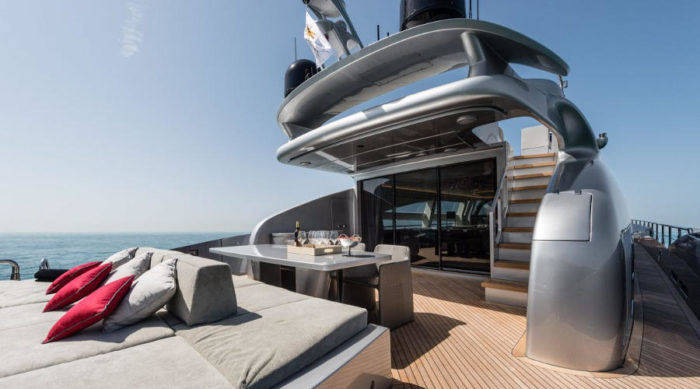 Gorgeous And Powerful AB-100 Spectre Yacht 6
