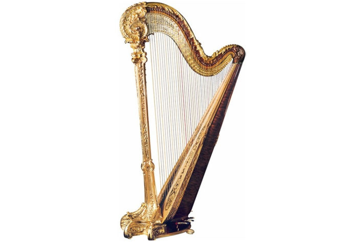 Louis XV Special Is An Incredibly Luxurious Harp 1