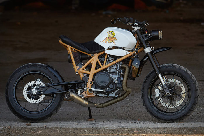 Federal Moto Creates A Special KTM 690 Motorcycle 1
