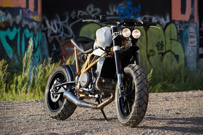 Federal Moto Creates A Special KTM 690 Motorcycle 2