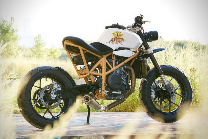 Federal Moto Creates A Special KTM 690 Motorcycle 3