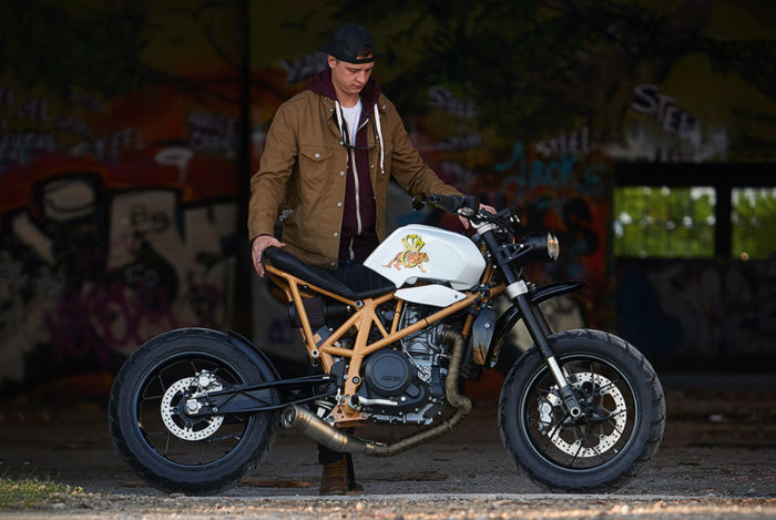 Federal Moto Creates A Special KTM 690 Motorcycle 7