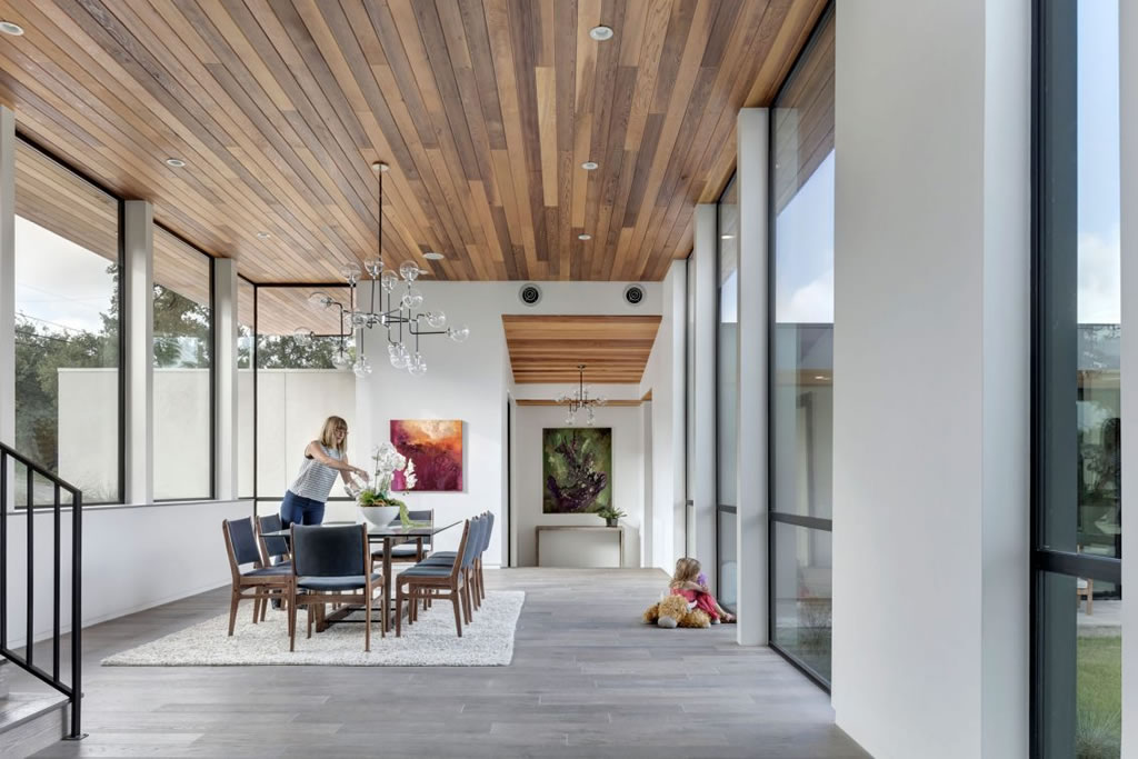 Splendid Home In Austin, Texas By Matt Fajkus Architecture 10
