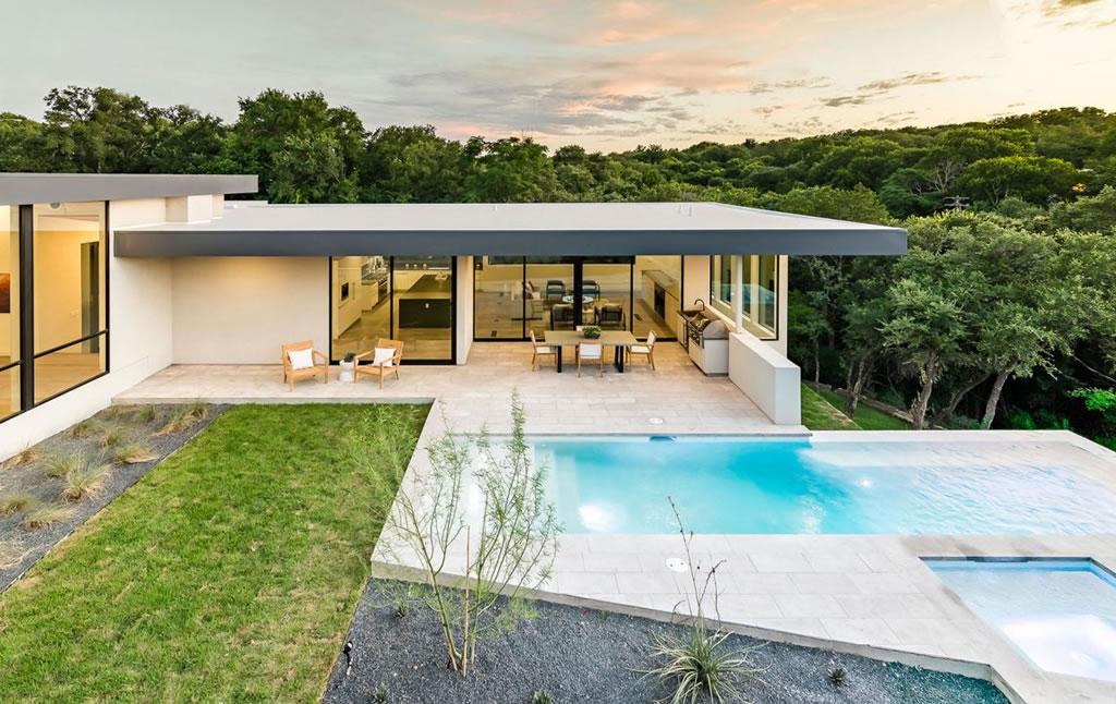 Splendid Home In Austin, Texas By Matt Fajkus Architecture 16
