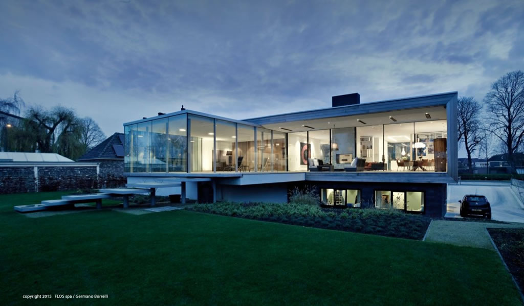 Modern Home In Weert, The Netherlands By Liag Architects 16