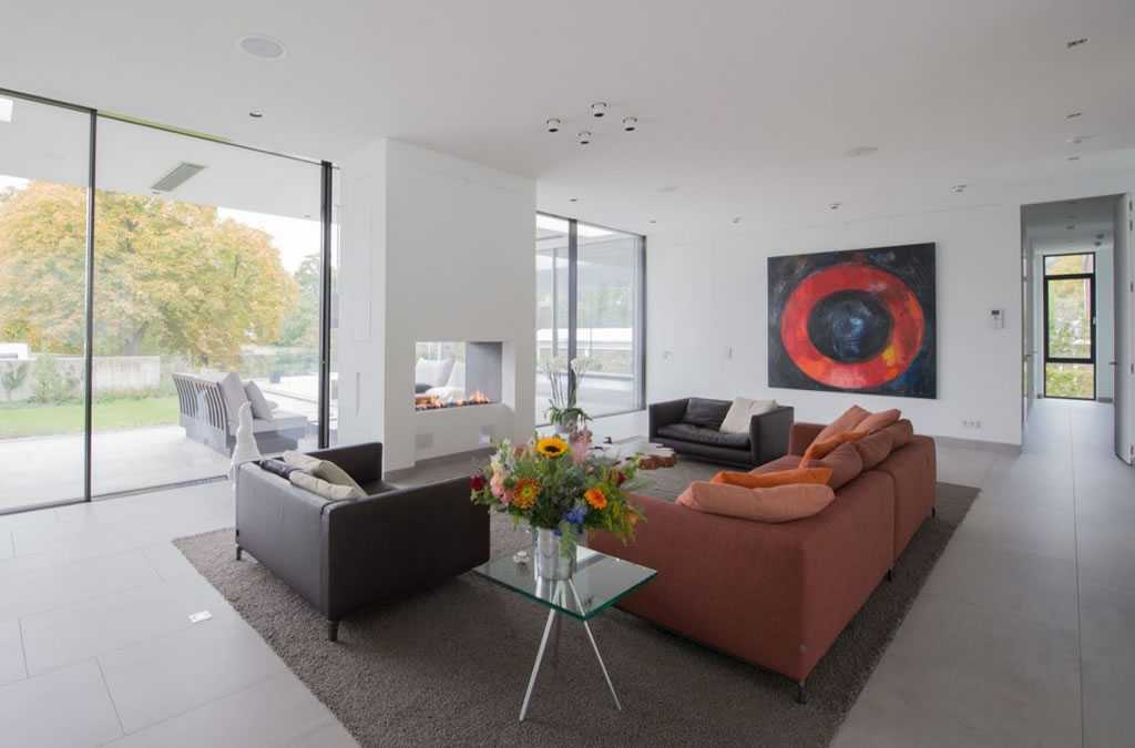 Modern Home In Weert, The Netherlands By Liag Architects 7