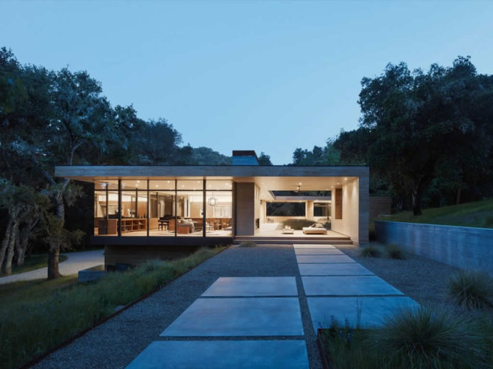 Residence In Carmel Valley By Sagan Piechota Architecture (1)