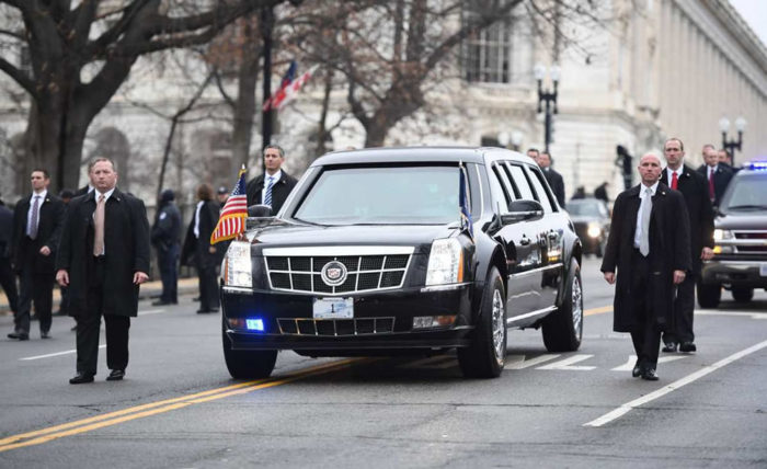 Cadillac One That Will Keep Trump Safe