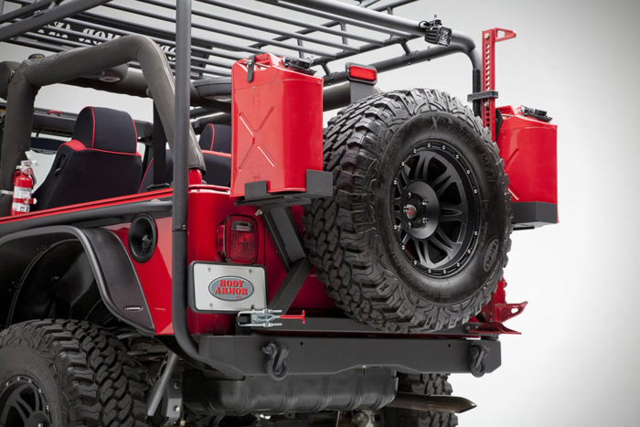 Off-Road Vehicle Upgrades By Body Armor 4x4 3